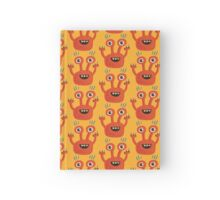 Funny Orange Creature Hardcover Journal