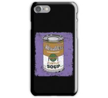 SHREDDER'S MIKEY SOUP iPhone Case/Skin