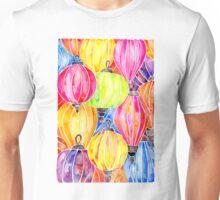Vietnamese Rainbow Lanterns Unisex T-Shirt