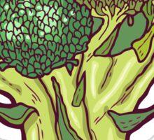 brilliant broccoli Sticker