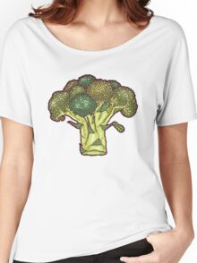 brilliant broccoli Women's Relaxed Fit T-Shirt