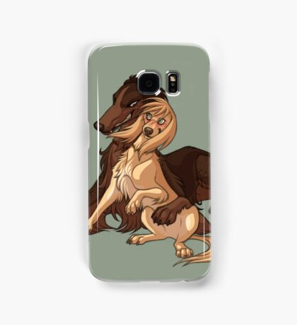 Ymir and Christa - Borzoi and Saluki Samsung Galaxy Case/Skin