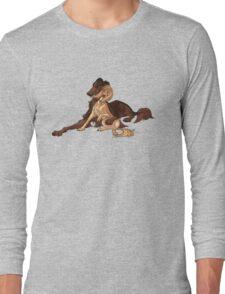 Ymir and Christa - Borzoi and Saluki Long Sleeve T-Shirt
