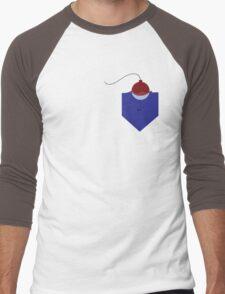 Fishing Pocket Men's Baseball ¾ T-Shirt