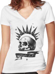 chloe price t-shirt Women's Fitted V-Neck T-Shirt