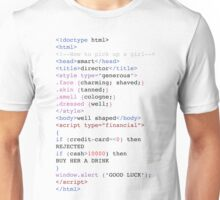 Girl Pick-Up Code Unisex T-Shirt