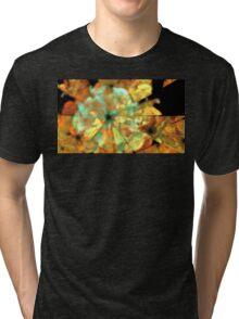 Autumn Petunias Tri-blend T-Shirt
