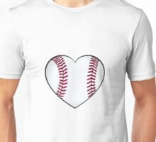Baseball Heart Unisex T-Shirt