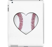 Baseball Heart iPad Case/Skin