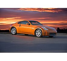 2005 Nissan 350 Z Sports Coupe Photographic Print
