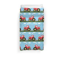Toy tractor pattern Duvet Cover
