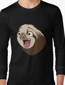 Sloth flash Long Sleeve T-Shirt