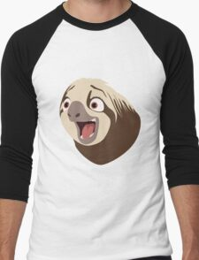 Sloth flash Men's Baseball ¾ T-Shirt