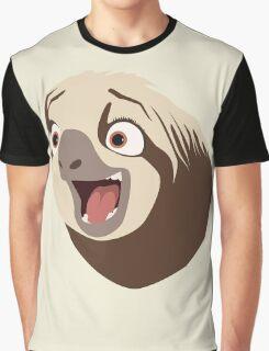 Sloth flash Graphic T-Shirt