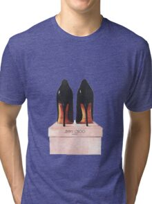 Jimmy Choo Shoes Tri-blend T-Shirt