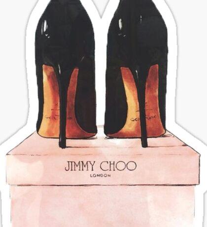Jimmy Choo Shoes Sticker