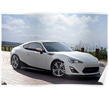 Sports Coupe Poster