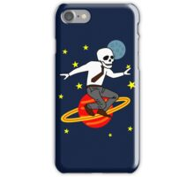 Space Office Skeleton iPhone Case/Skin
