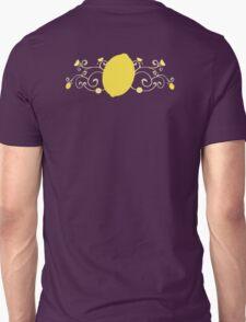 Lemon Swirl Graphic Unisex T-Shirt