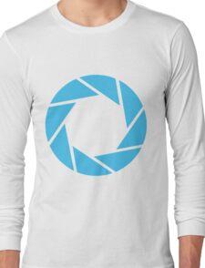 Aperture Science (Blue) Long Sleeve T-Shirt