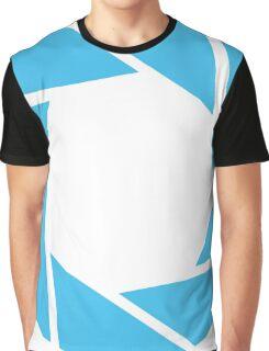 Aperture Science (Blue) Graphic T-Shirt