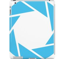 Aperture Science (Blue) iPad Case/Skin