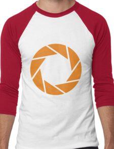 Aperture Science (Orange) Men's Baseball ¾ T-Shirt
