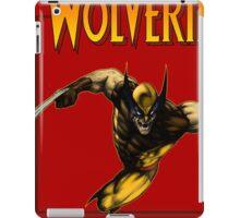 Wolverine attack 80's  iPad Case/Skin
