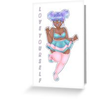 Pastel Party (Alternate Version) Greeting Card