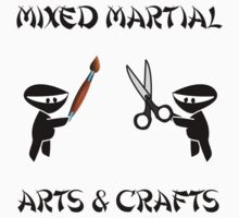 Mixed Martial Arts Crafts Kids Tee