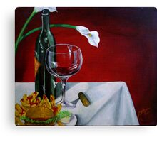 Fine Wine Canvas Print