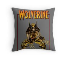 Wolverine poster Throw Pillow