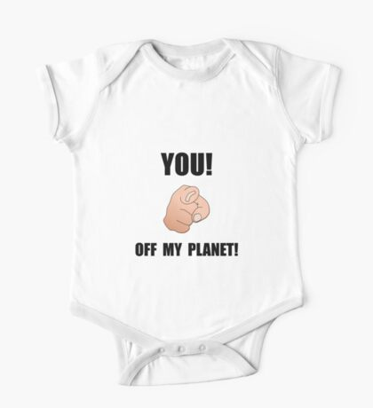 Off My Planet One Piece - Short Sleeve