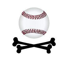 Pirate Baseball Photographic Print
