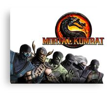 Mortal Kombat X #1 Canvas Print