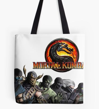 Mortal Kombat X #1 Tote Bag