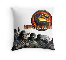 Mortal Kombat X #1 Throw Pillow