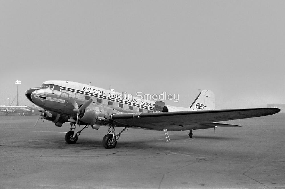 BEA DC-3 Dakota III G-AHCX by Colin Smedley