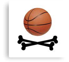 Pirate Basketball Canvas Print