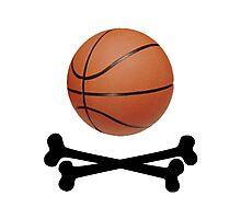 Pirate Basketball Photographic Print