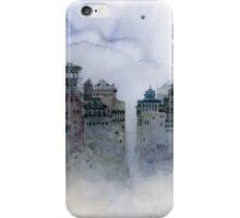 gray moon iPhone Case/Skin
