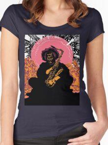 Kamasi Washington Women's Fitted Scoop T-Shirt