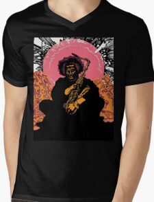 Kamasi Washington Mens V-Neck T-Shirt