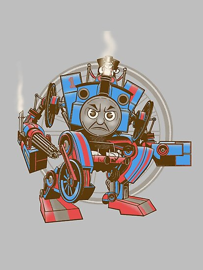 Thomas The Assault Engine by MomfiaTees