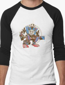 Thomas The Assault Engine Men's Baseball ¾ T-Shirt