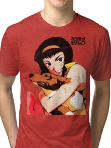 Cowboy bebop Faye and ein Tri-blend T-Shirt
