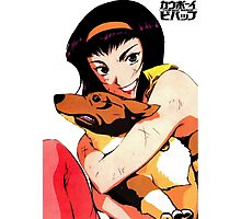 Cowboy bebop Faye and ein Photographic Print