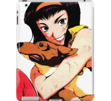 Cowboy bebop Faye and ein iPad Case/Skin