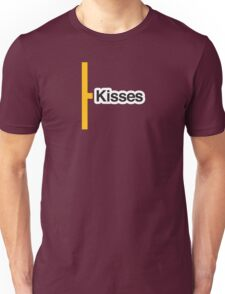 Kisses - Literally Translated Metro Map Unisex T-Shirt