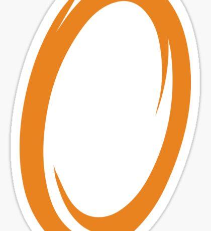 Orange Portal Sticker